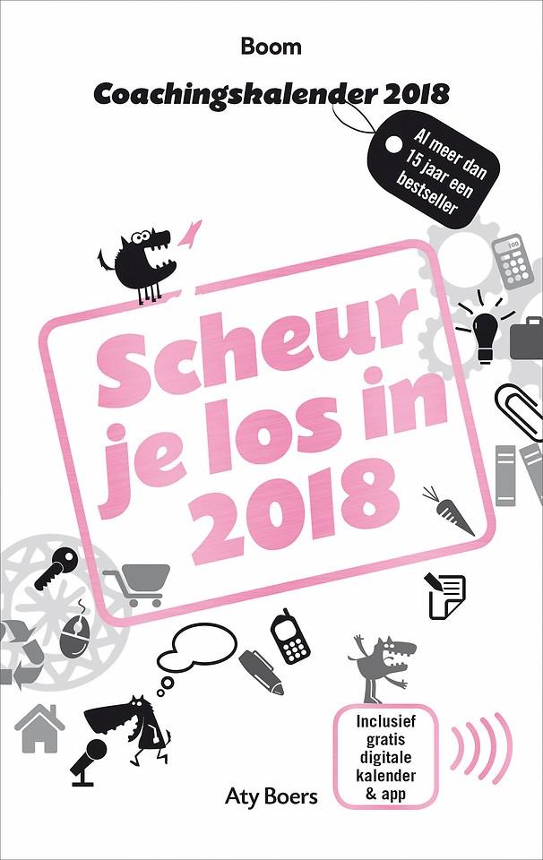 Coachingskalender 2018 - Scheur je los in 2018