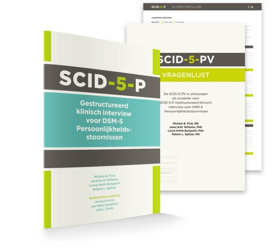 SCID-5-P: Vragenlijst (50 ex.)