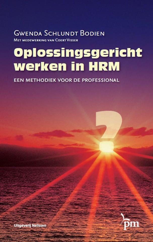Oplossingsgericht werken in HRM