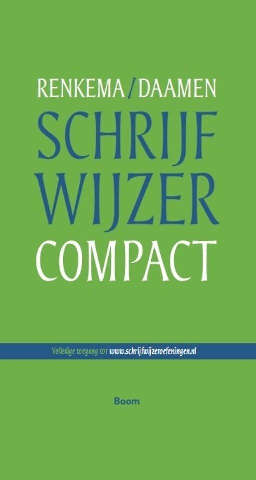 Schrijfwijzer Compact (toegang website)