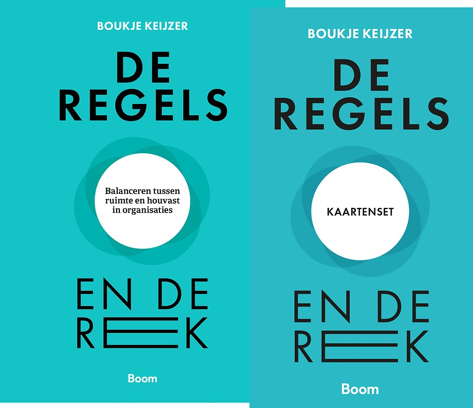 De regels en de rek - Boek + kaartenset
