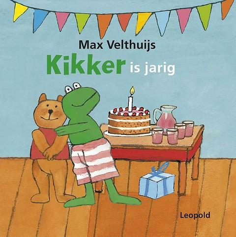 afbeelding kikker is jarig Kikker is jarig door Max Velthuijs (gebonden)   Managementboek.nl afbeelding kikker is jarig