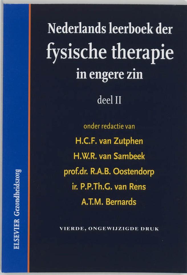 Nederlands leerboek der fysische therapie in engere zin deel II