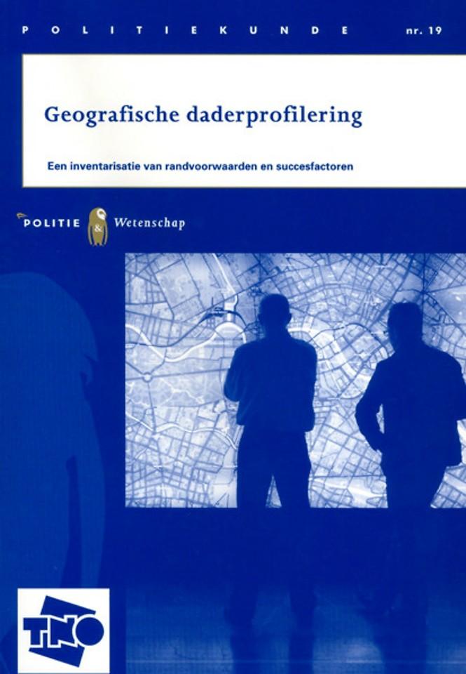 Geografische daderprofilering