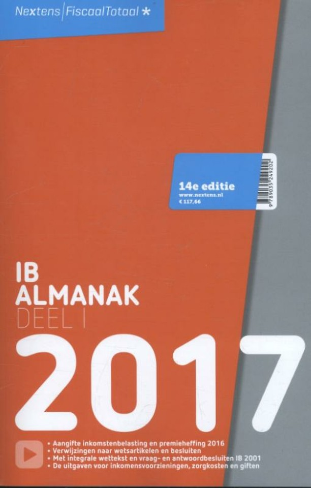 Nextens IB Almanak 2017 - Deel 1