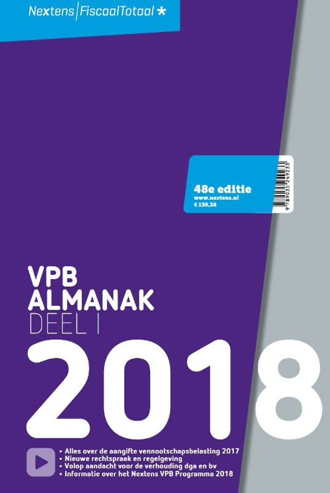 Nextens VPB Almanak 2018 - Deel 1