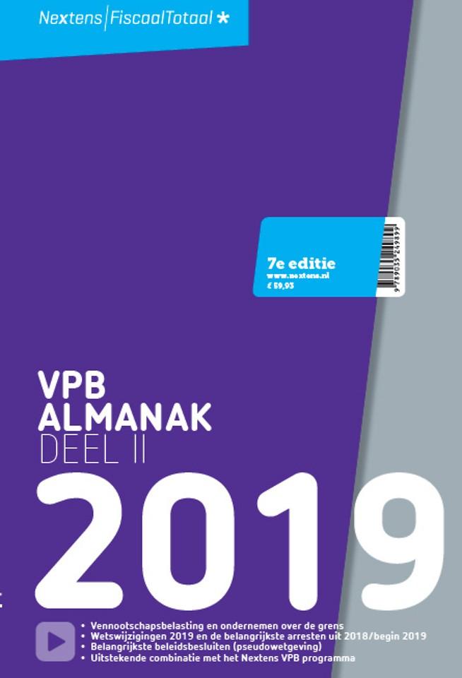 Nextens VPB almanak 2019 - Deel 2