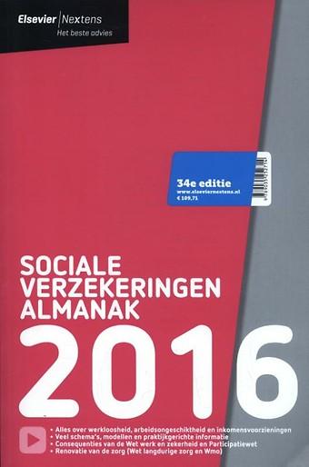 Elsevier Sociale Verzekeringen Almanak 2016
