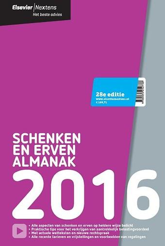 Elsevier Schenken en Erven Almanak 2016