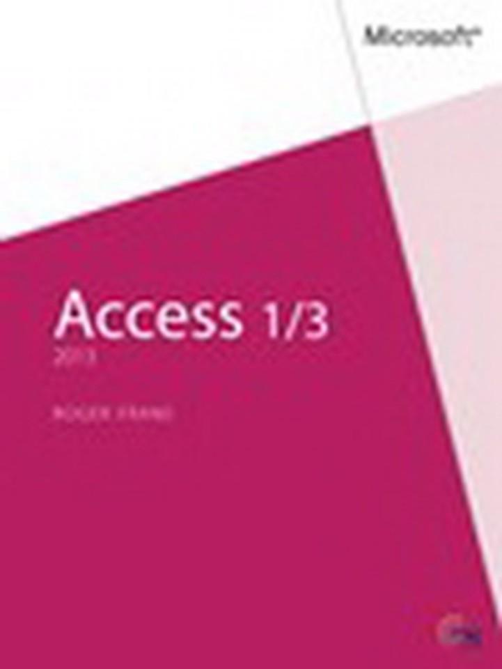 Access 2013 1|3