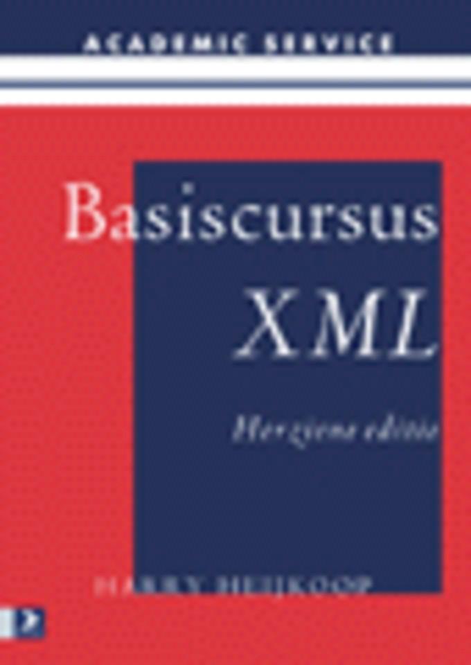 Basiscursus XML