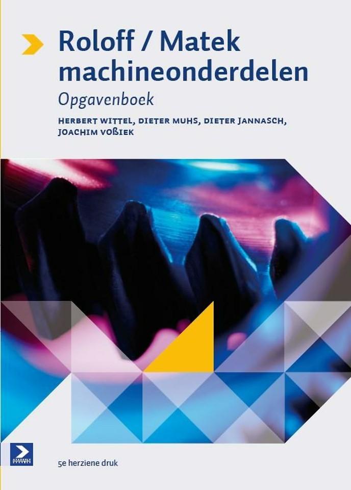 Roloff/Matek Machineonderdelen Opgavenboek 5e druk