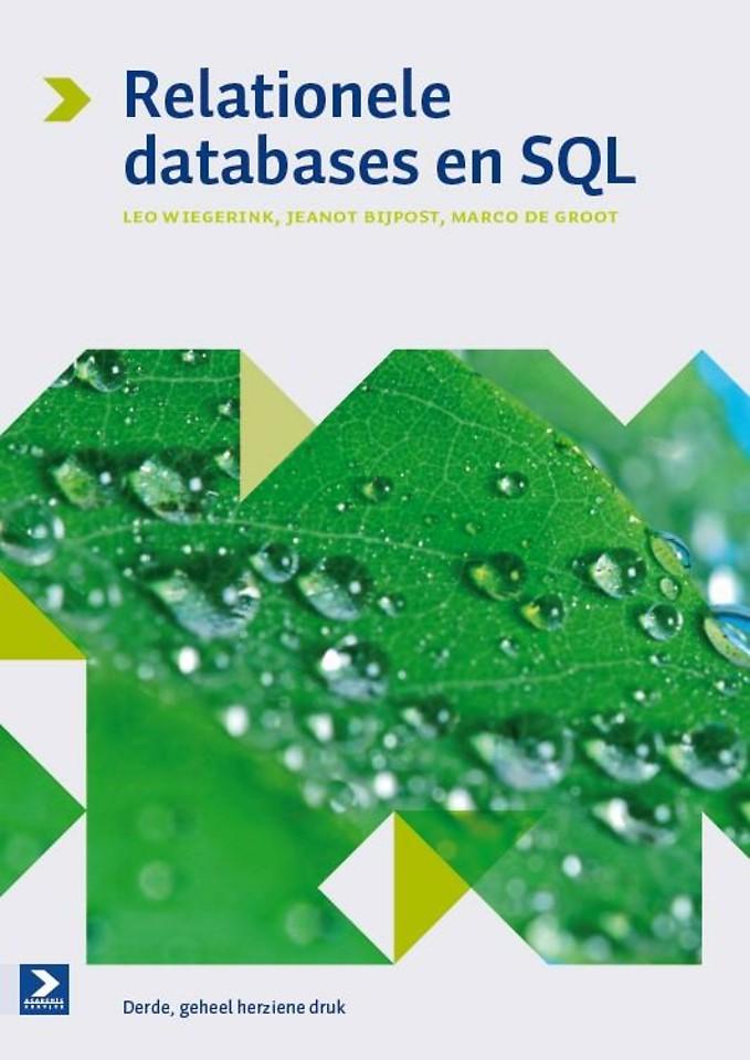 Relationele Databases en SQL 3e herziene druk