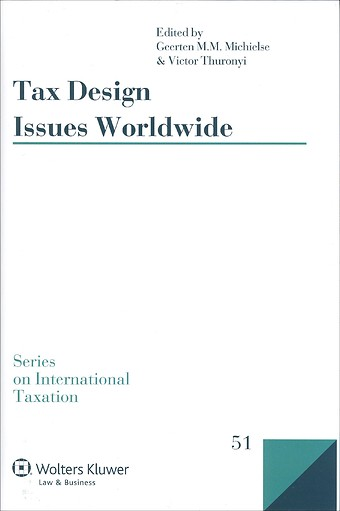 Tax design issues worldwide