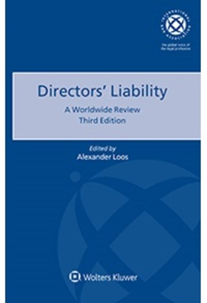 Director S Liability Engels Door Alexander Loos Boek