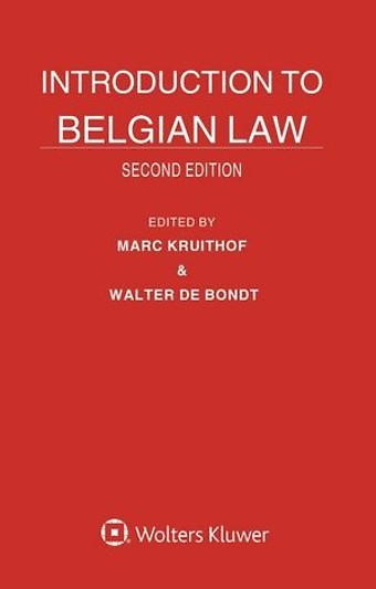 Introduction To Belgian Law