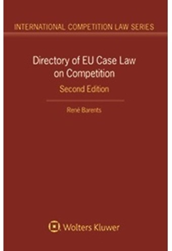 Directory on EU Case Law on Competition