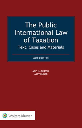 The Public International Law of Taxation