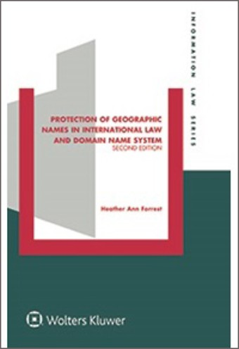 Protection of Geographic Names in International Law and Domain System