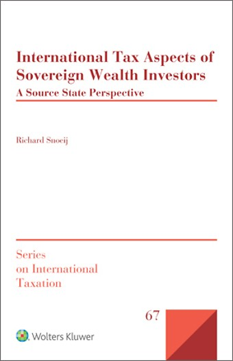 International Tax Aspects of Sovereign Wealth Investors