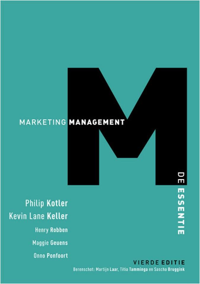 Marketingmanagement - De essentie