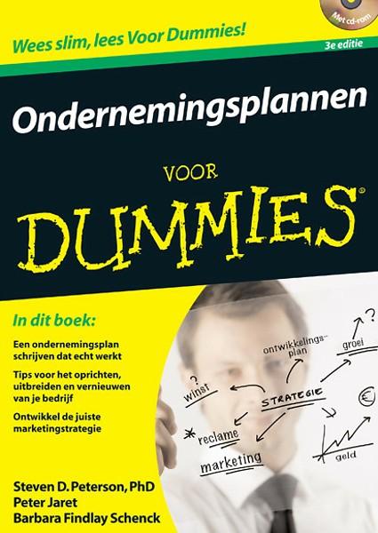 ondernemingsplan schrijven voor dummies Ondernemingsplannen voor Dummies door Steven Peterson, Peter Jaret  ondernemingsplan schrijven voor dummies