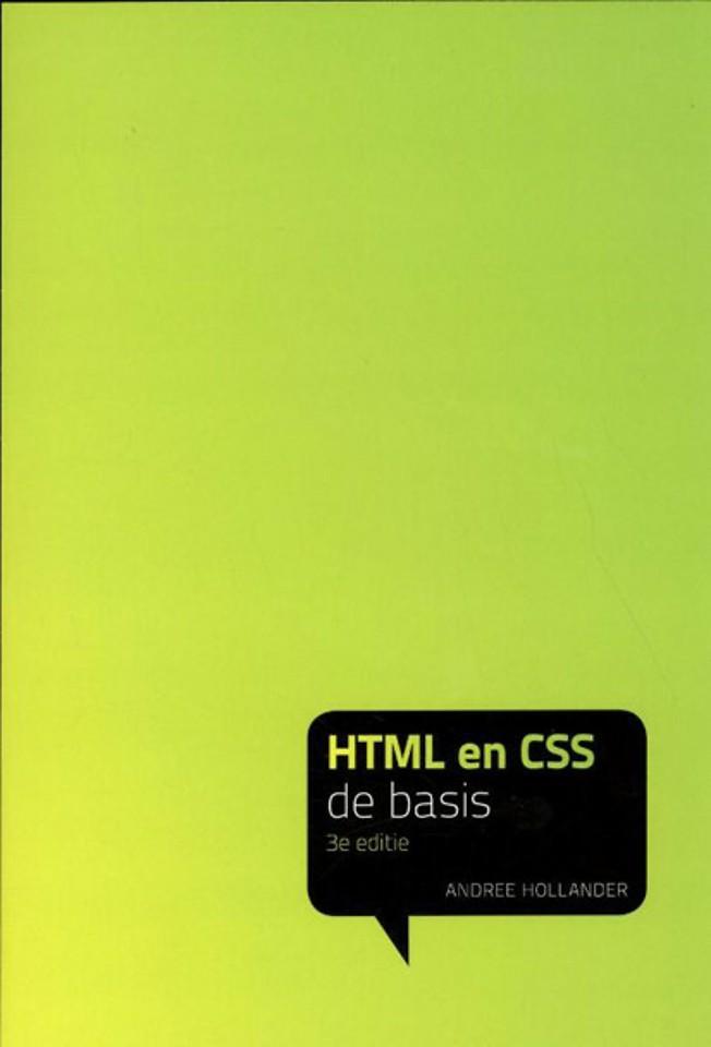 HTML en CSS - de basis 3e editie