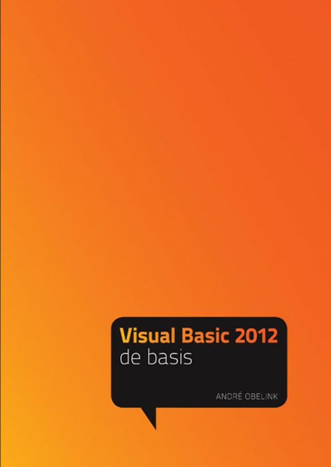 Visual Basic 2012 - de basis