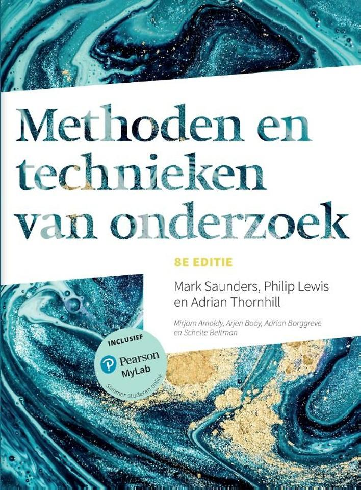 Methoden en technieken van onderzoek, 8e editie met MyLab NL toegangscode