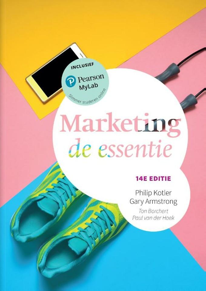 Marketing, de essentie, 14e editie met MyLabNL toegangscode