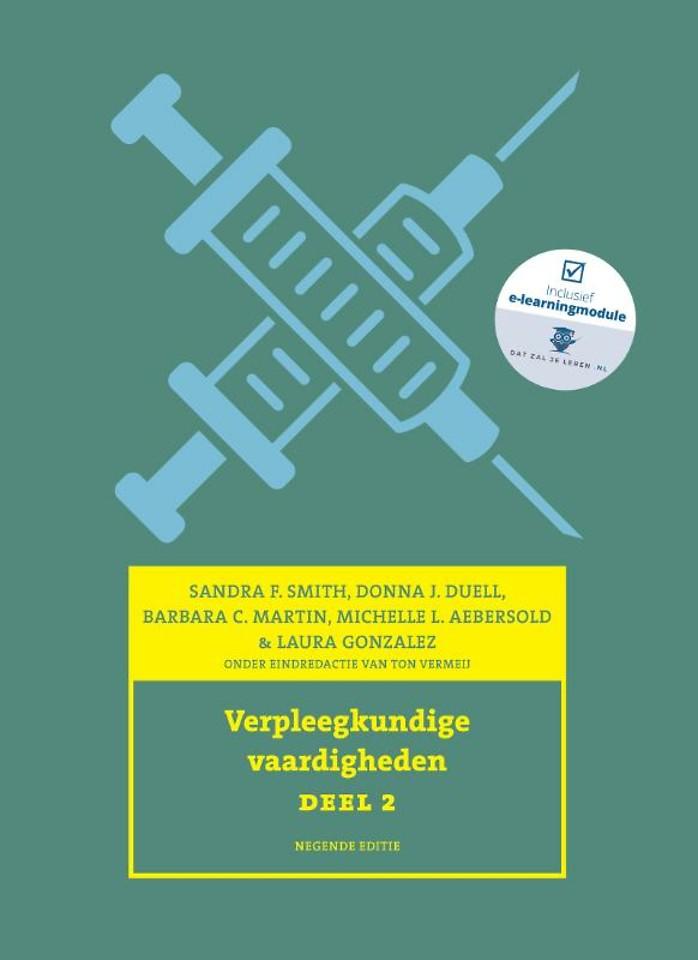 Verpleegkundige vaardigheden, deel 2, 9e editie met datzaljeleren.nl