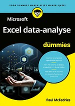 Microsoft Excel data-analyse voor Dummies