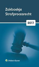 Zakboekje Strafprocesrecht 2017