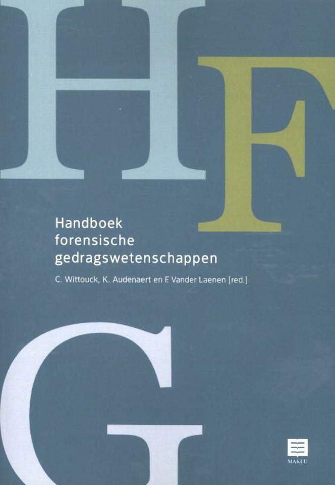 Handboek forensische gedragswetenschappen (Belgisch recht)