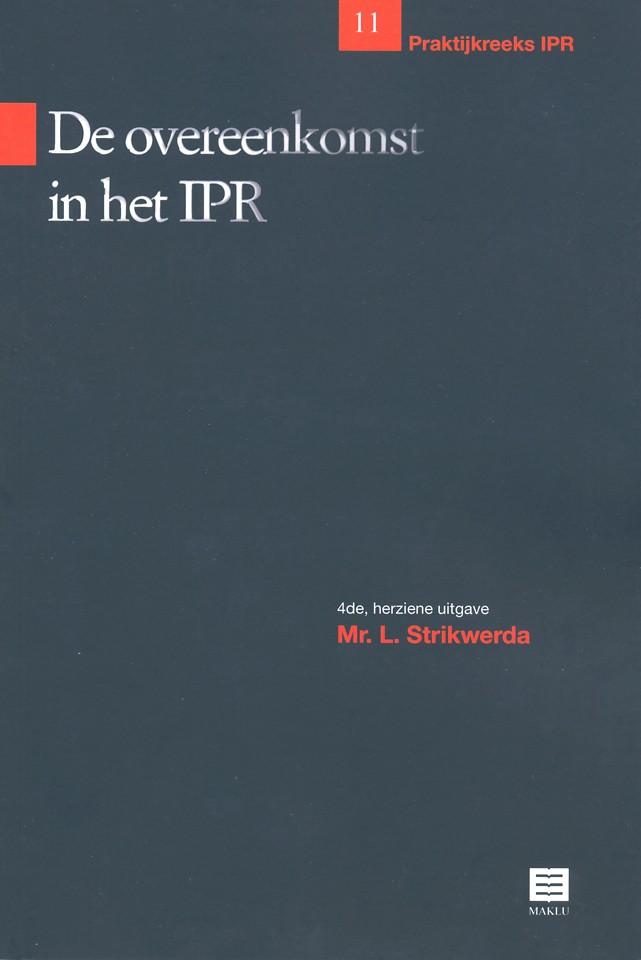 De overeenkomst in het IPR