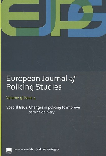 European Journal of Policing Studies