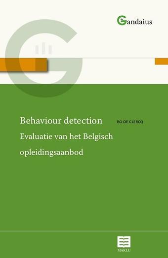 Behaviour detection - Evaluatie van het Belgisch opleidingsaanbod