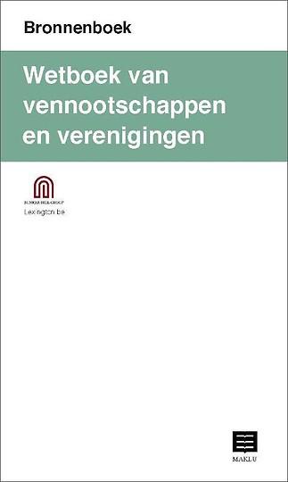 Wetboek van vennootschappen en verenigingen (Bronnenboek)