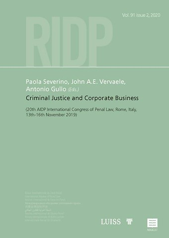 Criminal Justice and Corporate Business