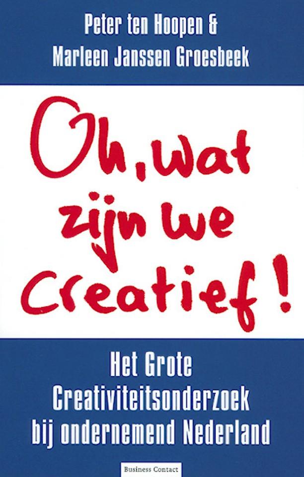 Oh, wat zijn we creatief!