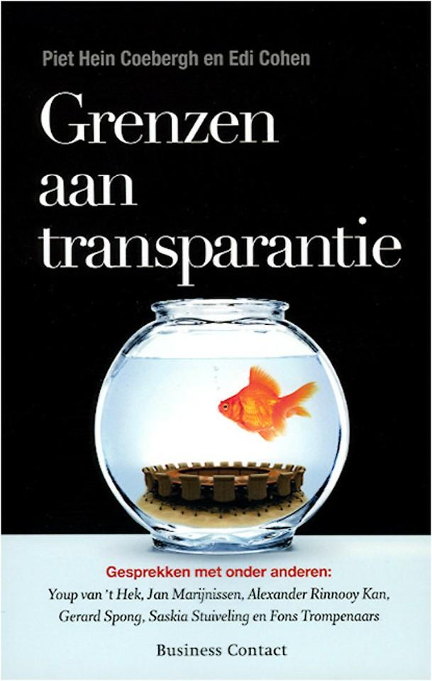 Grenzen aan transparantie