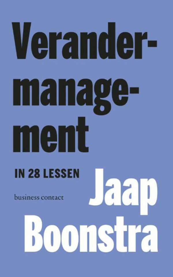 Verandermanagement in 28 lessen