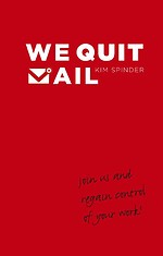 We quit mail- English