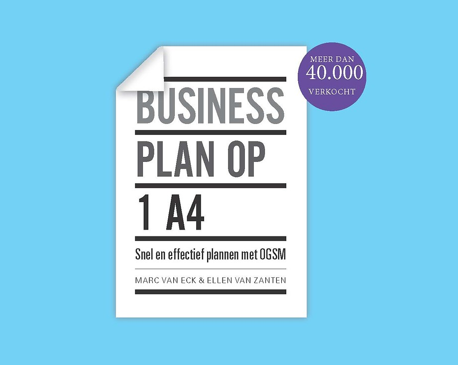 Businessplan op 1 A4 - Word succesvoller met OGSM