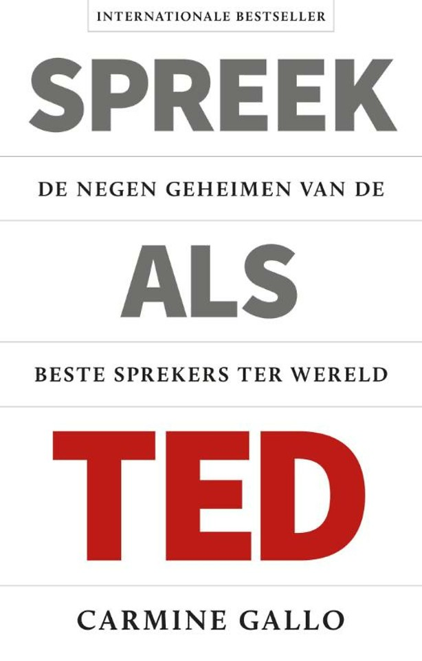 Spreek als TED