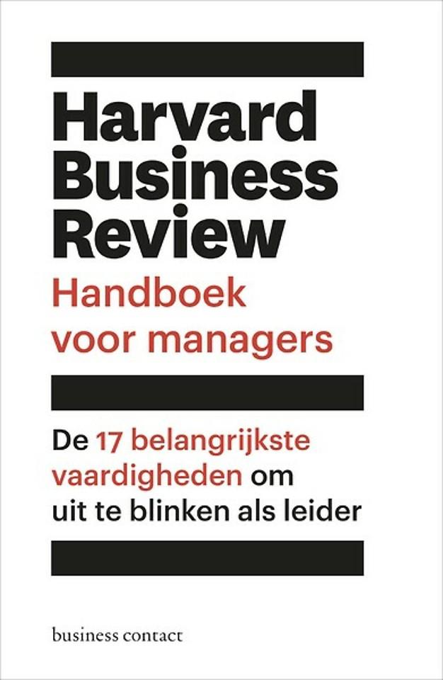 Harvard Business Review - Handboek voor managers