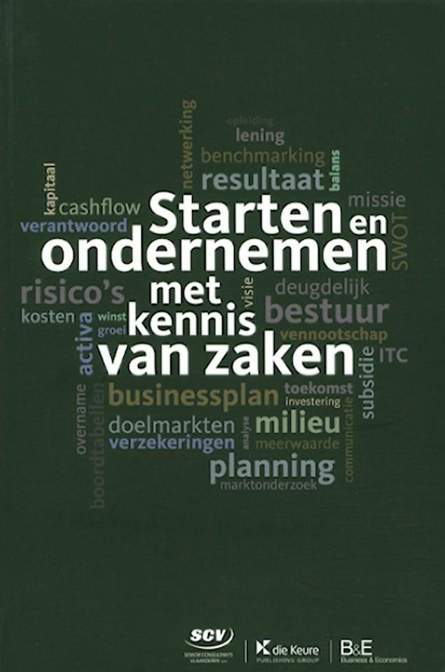 Starten en ondernemen met kennis van zaken