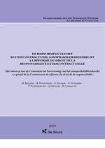 De hervorming van het buitencontractueel aansprakelijkheidsrecht