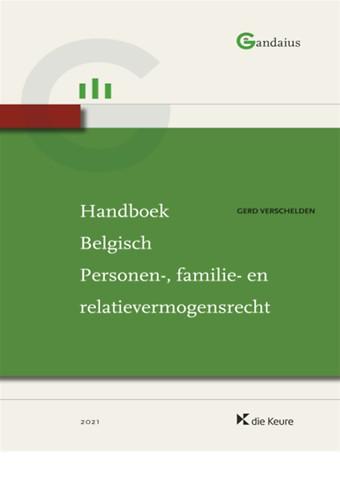 Handboek Belgisch Personen-, familie- en relatievermogensrecht