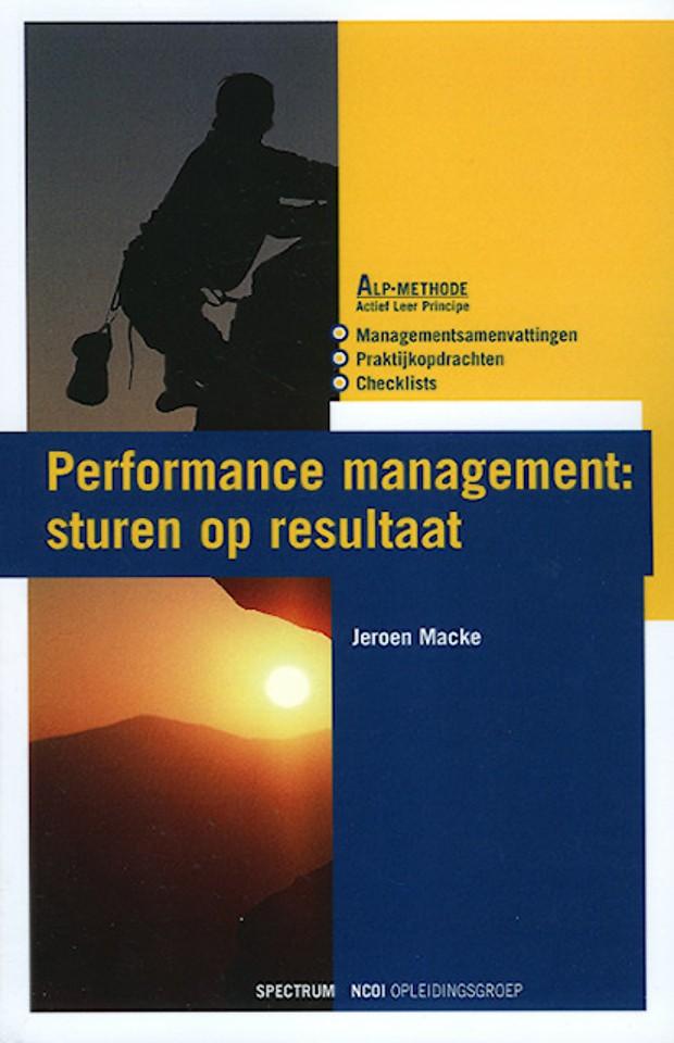 Performance management: sturen op resultaat
